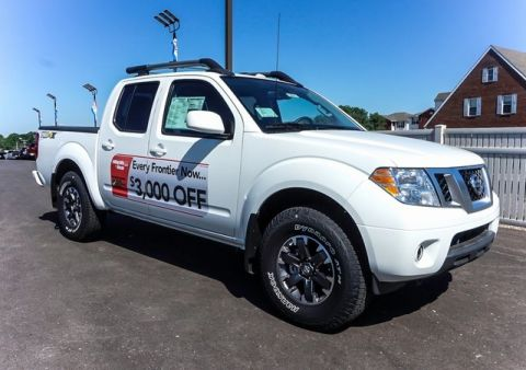 New 2017 Nissan Frontier PRO-4X 4WD