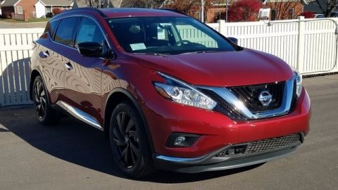 New 2017 Nissan Murano Platinum AWD